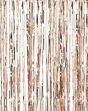 Ginger Ray Rose Gold Fringe Curtain