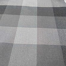 Gingham Check Fire Retardant Upholstery Fabric by