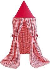 Gingham Hanging Play Tent Wrigglebox