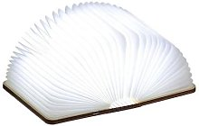 Gingko - Maple LED Smart BookLight - Wood/White