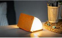Gingko - Mini Smart Book Light Orange Fabric