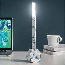 Gingko Octagon One Rechargeable Desk Light Marble
