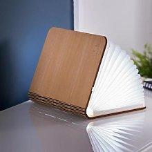 Gingko - Smart Book Light - Walnut / Large