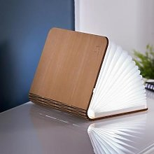 Gingko - Smart Book Light - Walnut / Mini