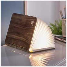 Gingko - Walnut Smart Book Light Large
