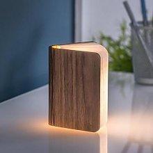 Gingko - Walnut Smart Book Light Mini