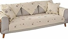 Ginsenget Sofa Cover For Chaise Longue,Dust Proof