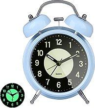 GINZER Classical Retro Twin Bell Alarm Clock, Non