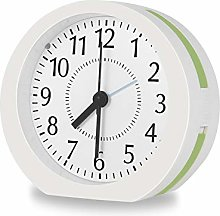 GINZER Music Alarm Clock Bedside Non Ticking