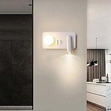 GIOAMH 4W Led Wall Lights, White Acrylic Wall Wash