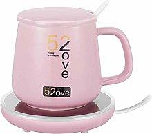 GIOAMH Coffee Mug Warmer,55℃ Coffee Mug