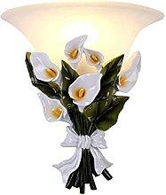 GIOAMH Creative Decorative Wall Lamp Bouquet