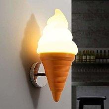 GIOAMH Ice Cream Wall Lamp Sconce Single Head