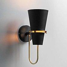 GIOAMH Indoor Wall Light, Wrought Iron Decorative