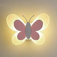 GIOAMH Led Wall Lamp, Creative Cartoon Butterfly