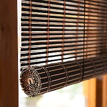 GIOAMH Reed Curtain,Bamboo Curtain, Roman Blind