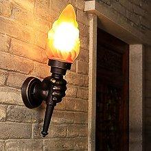 GIOAMH Retro Torchbearer Lamp, Balcony, Loft Lamp