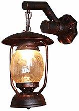 GIOAMH Vintage Wall Light Industrial Lighting E27