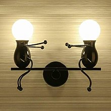 GIOAMH Wall Light Indoor Creative Cartoon Little