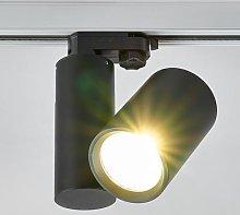Giol LED track lighting spotlight in black