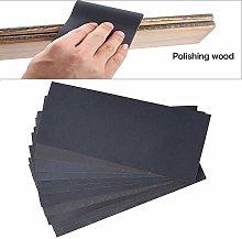 GIPOTIL 1set Sandpaper Waterproof Abrasive Paper