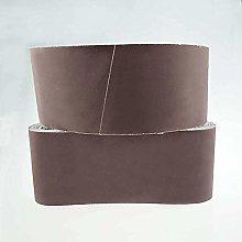GIPOTIL 5pcs Sanding Belts 75X457 mm Mixed Grade