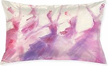 Girl1pc Room, Sofa Pillowcase, Rectangle Zipper