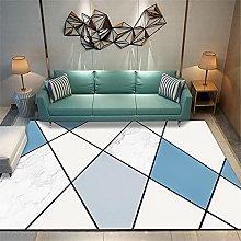 Girls Room Decor Desk Chair Mat For Carpet Blue