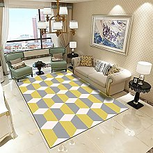Girls Room Rug Patio Rugs Gray yellow stitching