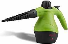 Girmi Steam Cleaner, Black/Green, One Size
