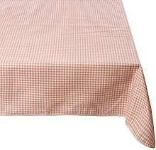 Girones Vintage Gingham RED Oilcloth Tablecloth