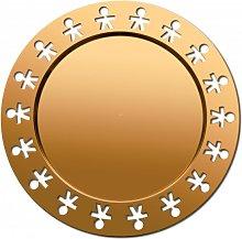 GIROTONDO GOLD ROUND TRAY