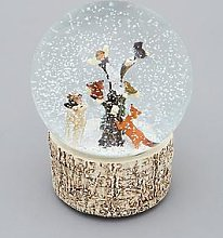 Gisela Graham Woodland Animals Musical Snow Globe