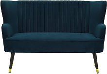 Giselle 2 Seater Sofa-Velluto 11