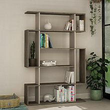 Giselle Bookcase Zipcode Design Colour: Dark