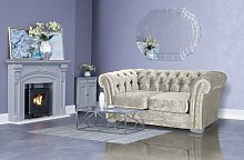 Gisselle 2 Seater Chesterfield Sofa Willa Arlo