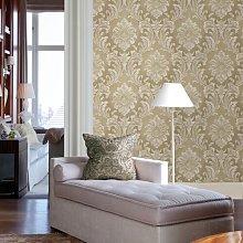 Giudecca Damask 10m x 52cm Wallpaper Roll Marlow