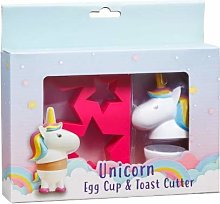Give Love Ones Adorable Unicorn Egg Cup & Toast