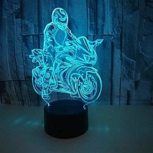 giyiohok 3D Illusion Lamp LED Night Light Creative