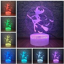 giyiohok 3D Illusion Lamp Led Night Light