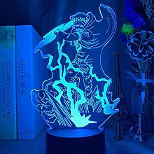 giyiohok 3D Illusion Lamp Led Night Light Japanese