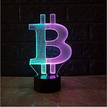 giyiohok 3D LAMP Mood Night Light LED Lighting USB