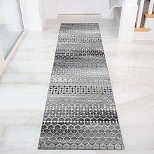 GJIF Runner Rug for Hallway, abstract Geometry