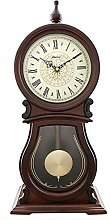 GJNVBDZSF Elegant Pendulum Clock, Home Decorative