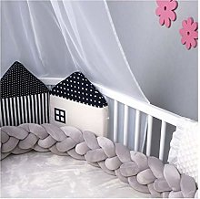 GJSC Baby Room Decor Baby Soft Knot Pillow Braid