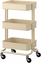 GJSN Cart Shelf with Wheels,Shelving Kitchen