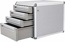 GJSN File Shelf,Desktop Cabinet 4 Drawers with