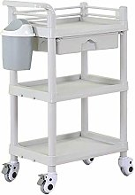GJSN Multifunctional Portable Movable Cart,Gray