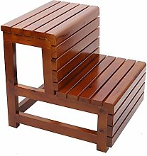 GJSN Wooden Step Stool,Step Foot Stool Stepping up