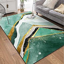 GJXY Carpet Modern flannel Rug, low pile Abstract